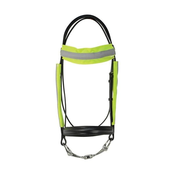 Reflector bridle bands by hy equestrian